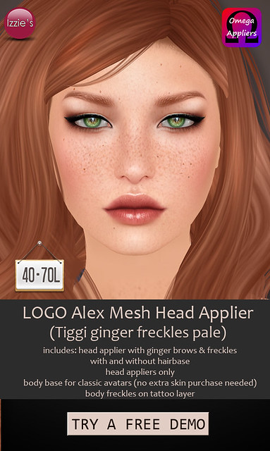 TDRF (LOGO Alex Applier ginger freckles)