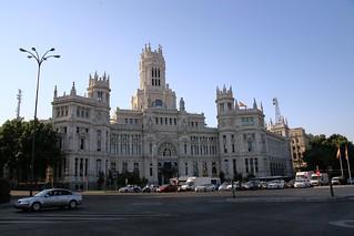 Palacio de Comunicaciones.  Madrid, Spain.