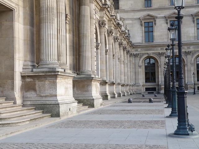 Louvre detail