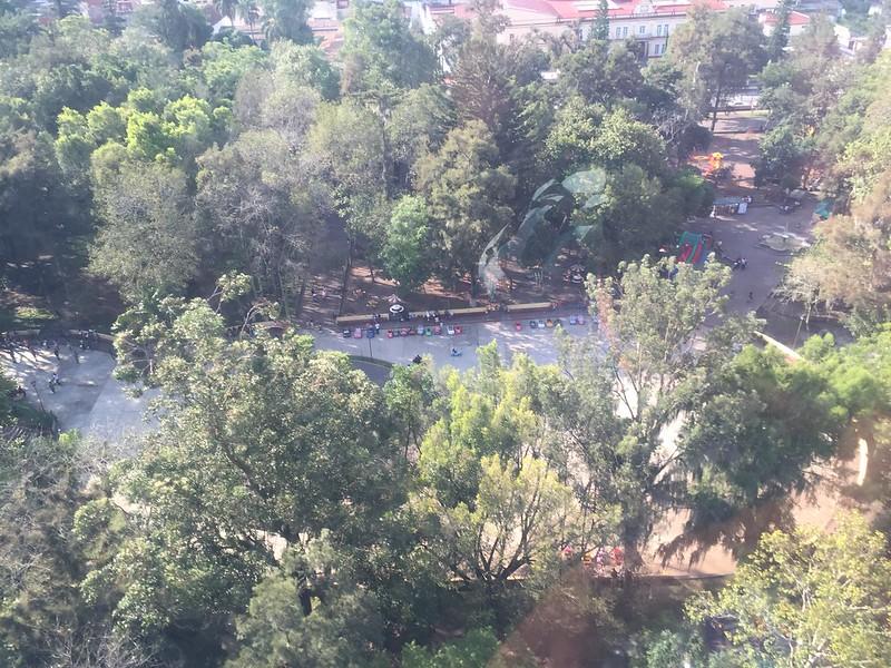 Vista desde el Teleférico de Orizaba
