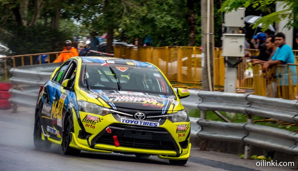 Toyota race day at Saphan Hin, Phuket