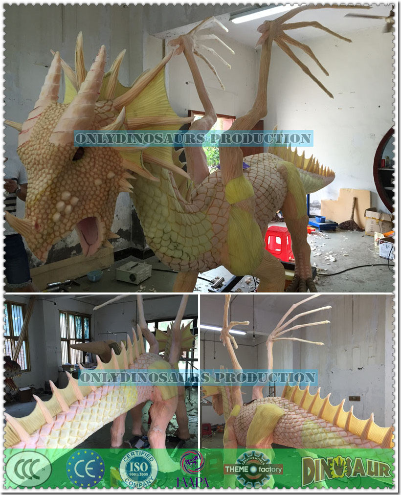 Texture Work for Dragon Model