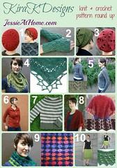 Kira K Designs pattern round up on Jessie At Home