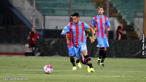Tortolano realizza il primo gol del test match.