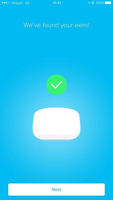 eero iOS App - Setup - #6