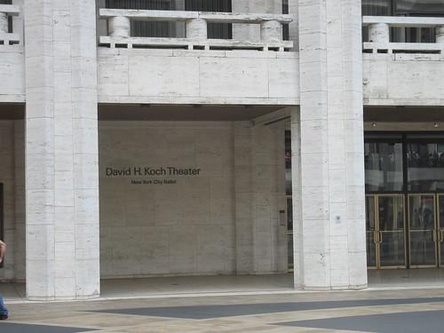 David Koch Theater of Ballet