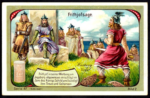 German Tradecard - The Legend of Frithjof