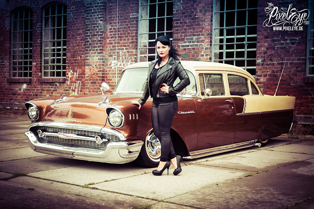 1957 Chevy Custom (2016) | with Jacky, Pin-Up Contest ...