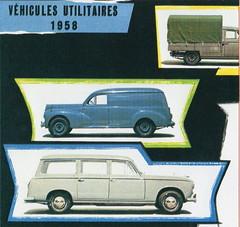 Peugeot 203 & 403 Commercials (1958)