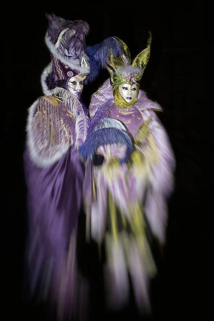 Venetian masks in Bruges
