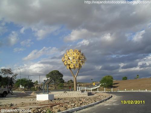 Olho d'Água das Flores - Monumento na entrada da cidade