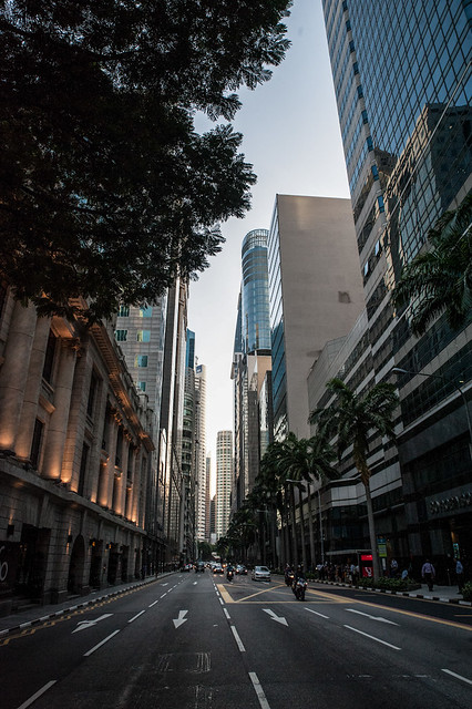 Downtown of Singapore