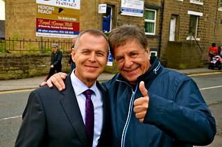 David King och Tom Brevik i Uppermill