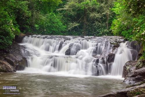 longexposure trees nature water georgia waterfall rocks unitedstates cleveland falls lumpkincounty dickscreekfalls thesussman sonyslta77 sussmanimaging