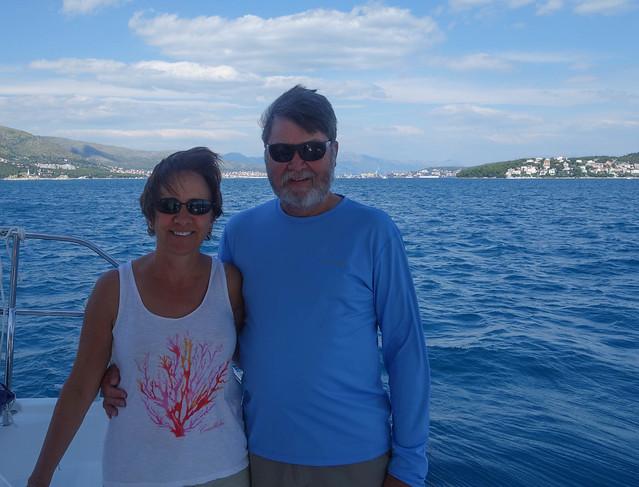 Sailing back to Agana