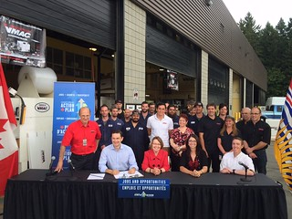 Canada-BC Job Grant supports BC workers and businesses