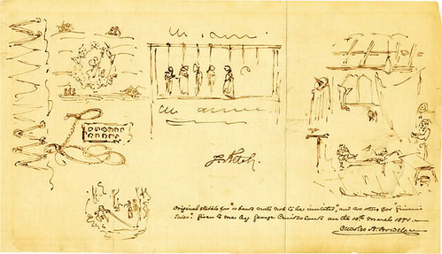 Cruikshank note back