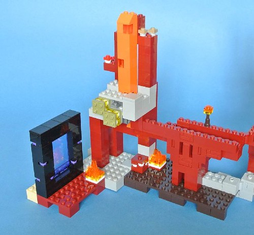 Review - 21122 LEGO Minecraft:The Nether Fortress από BRICKSET 19159504174_46362f3731