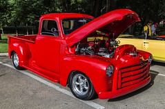 Custom Red Pickup