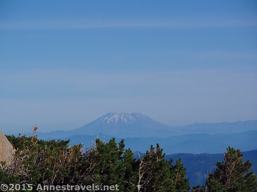Mt. St. Helens from the Cooper Spur Trail, Mount Hood National Forest, Oregon