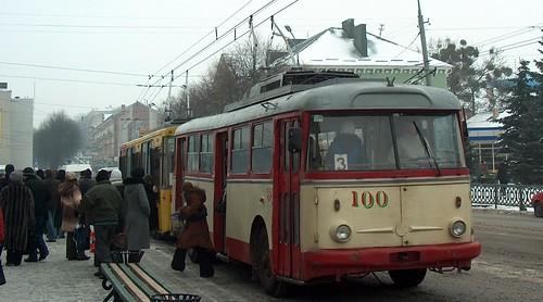 І тролейбус буде з навігатором