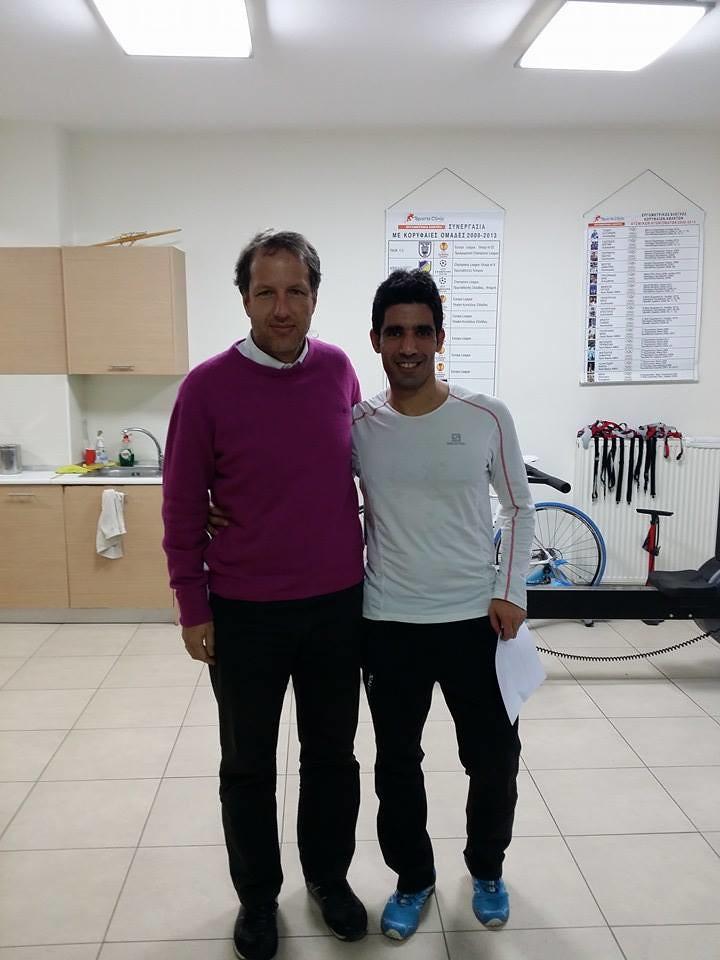 Με τον εργοφυσιολόγο Γιώργο Ζιώγα και τα αποτελέσματα του εργομετρικού τεστ ανά χείρας!