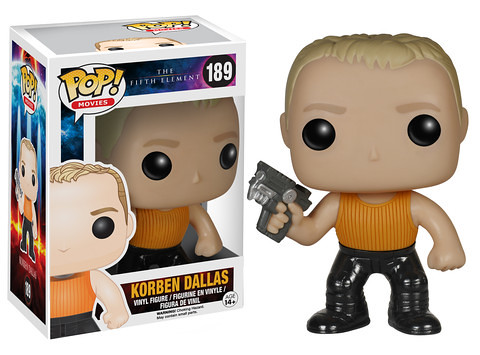 FUNKO POP! MOVIES 系列【第五元素】The Fifth Element