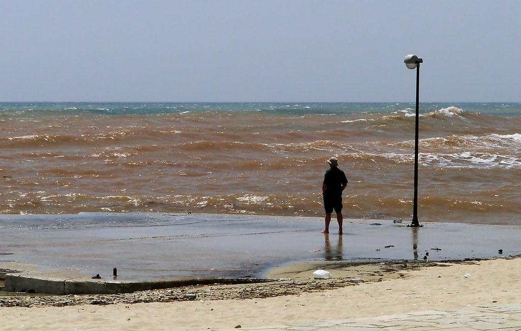 Thassos-Stormy day Limenaria