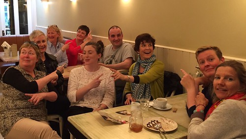 the mad #edchatie crew at #GREAT15