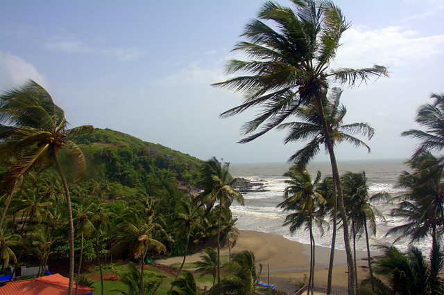 Ozran Beach, Goa
