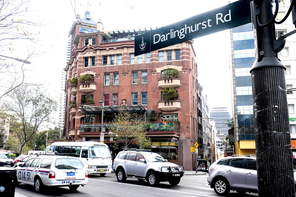 Darlinghurst Road Sign
