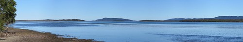 Wallis Lake, from Lani's Island