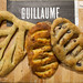 Trio of fougasse