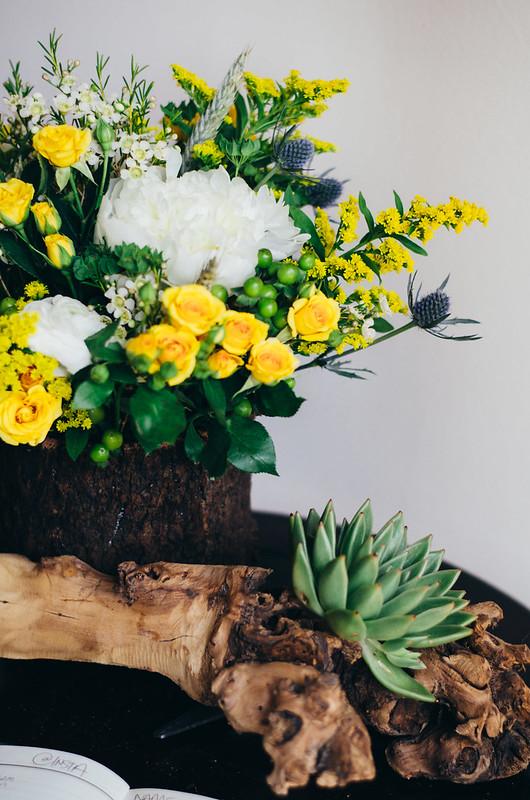 Flowers and Succulents on juliettelaura.blogspot.com