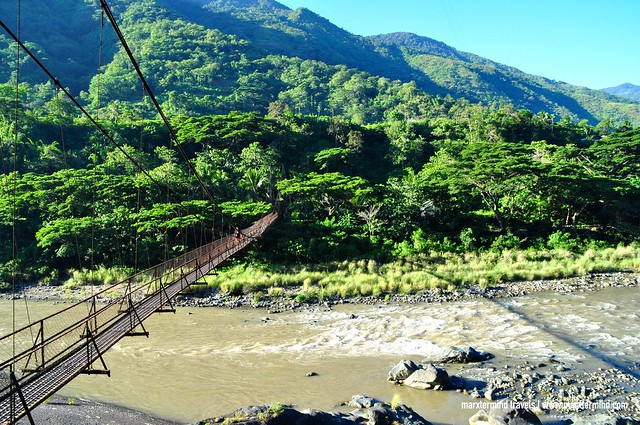 Hanging Bridge Connecting the Main Road to Luplupa