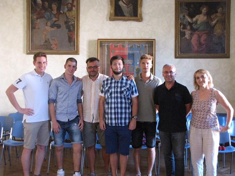 Il Sindaco e la Giunta di Castel Bolognese incontrano i super maturi