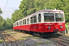 Downhill service on the Budapest Cogwheel Railway
