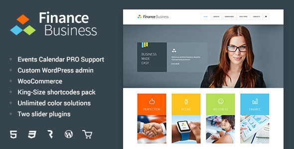 Finance Business v1.1.6 - Company Office Corporate Theme