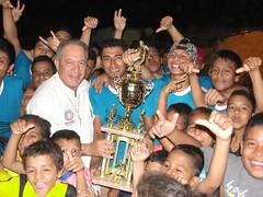 Concluyó campeonato interbarrial copa Soy Joven