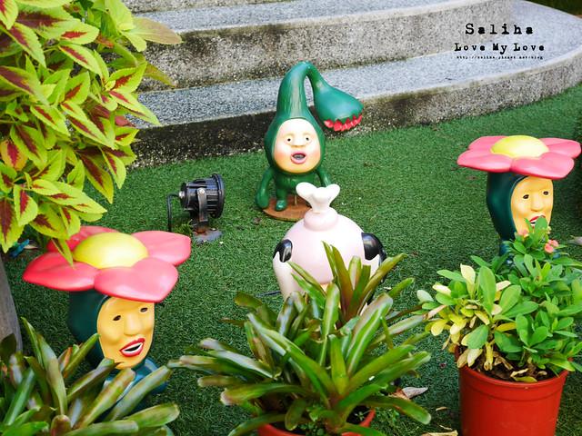 台北東區主題餐廳醜比頭的秘密花園輕食咖啡屁桃 (4)