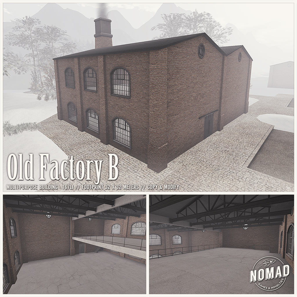 NOMAD // Old Factory B - SecondLifeHub.com