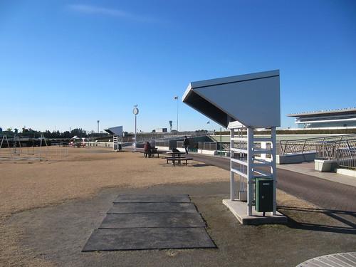 中山競馬場緑の広場のテレビ