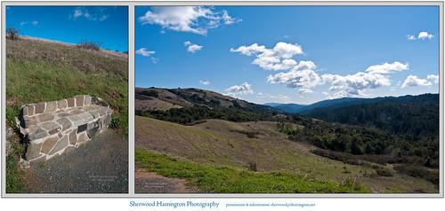 california lostrancos bench view scenery landscape