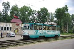 Usolye-Sibirskoye tram 71-605 028