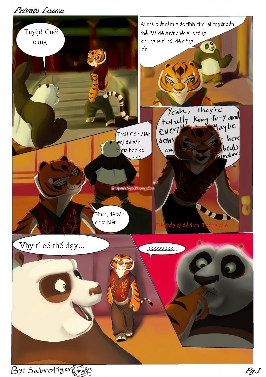 Hình ảnh  trong bài viết Private leson (kungfu panda)