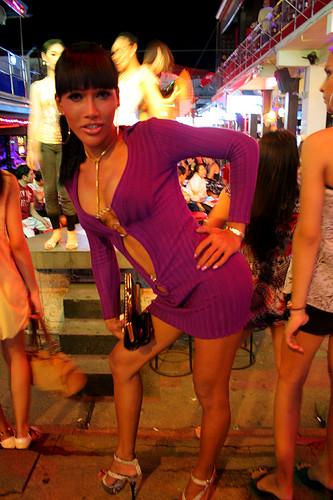 Nightlife at Patong Beach, Phuket, Thailand