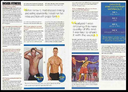David Kimmerle Inside Fitness Magazine