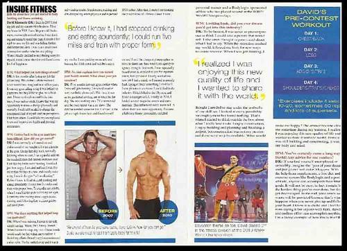 David Kimmerle Inside Fitness Magazine