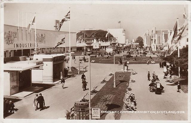 Kingsway, Empire Exhibition, Scotland, 1938