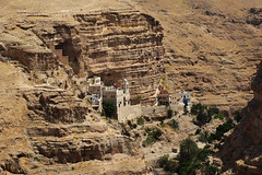 Trip to Israel, Day 4. На подступах к St. George Greek Ortodox Monastery in Judean desert - 5